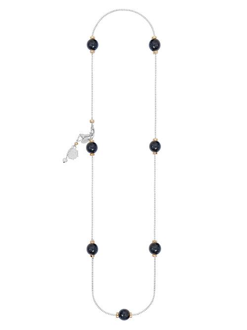 Fiorina Jewellery Comfort Necklace Navy