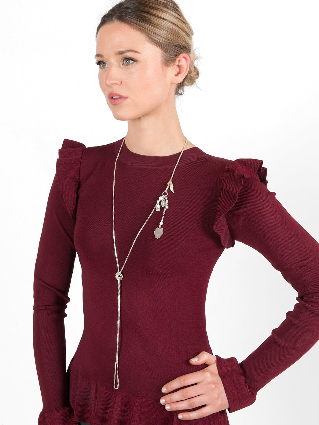 Fiorina Jewellery Helena Strand Medium Model Tied Side