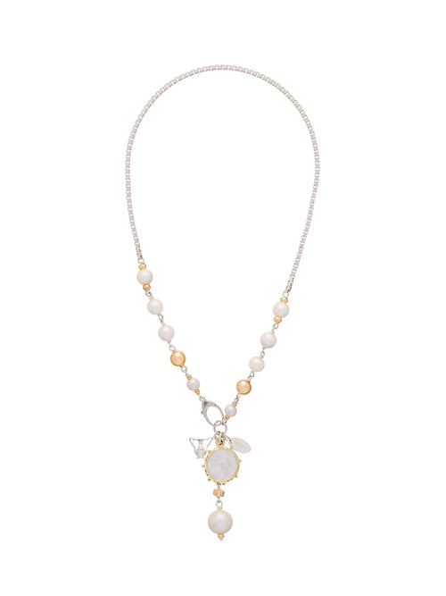 Fiorina Jewellery Olsen Necklace Pearl