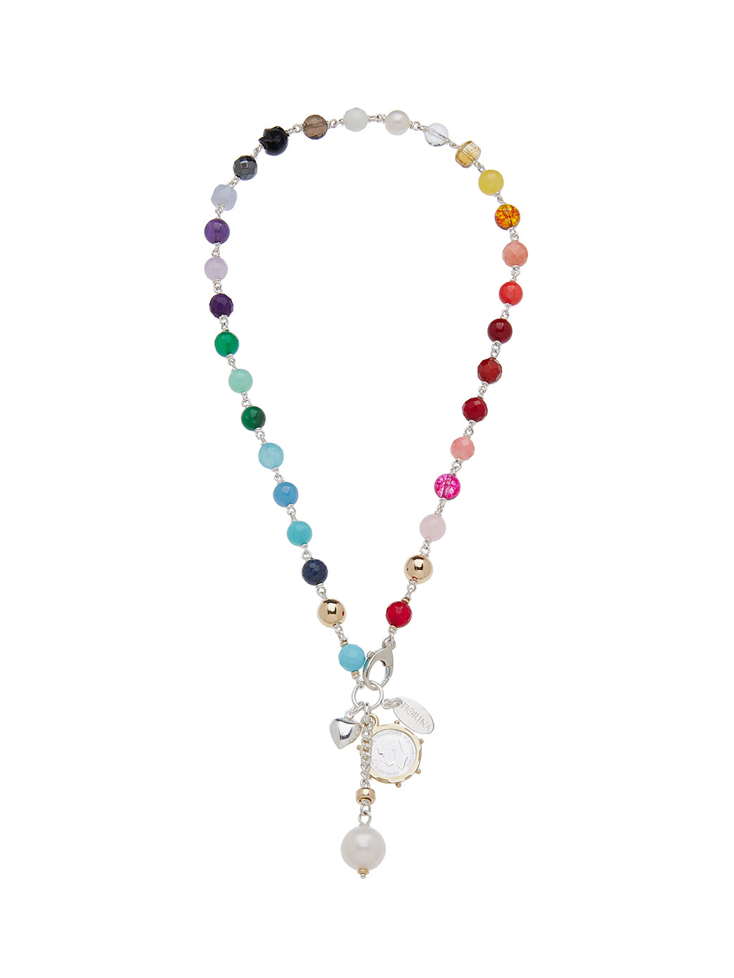 Fiorina Jewellery Pearlina Necklace Chakra