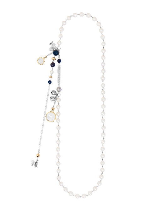 Fiorina Jewellery Rope Opera Strand Necklace Pearl
