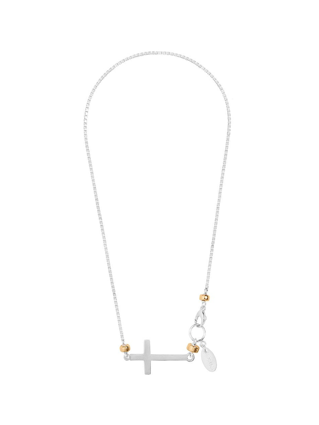 Fiorina Jewellery Side Cross Necklace