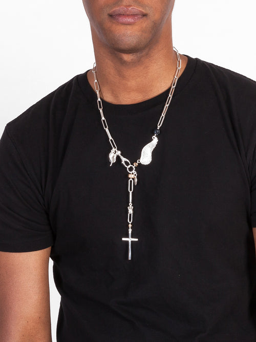 Fiorina Jewellery Mens D' Angelo Necklace