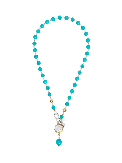 Fiorina Jewellery Monster Elite Pearlina Amazonite