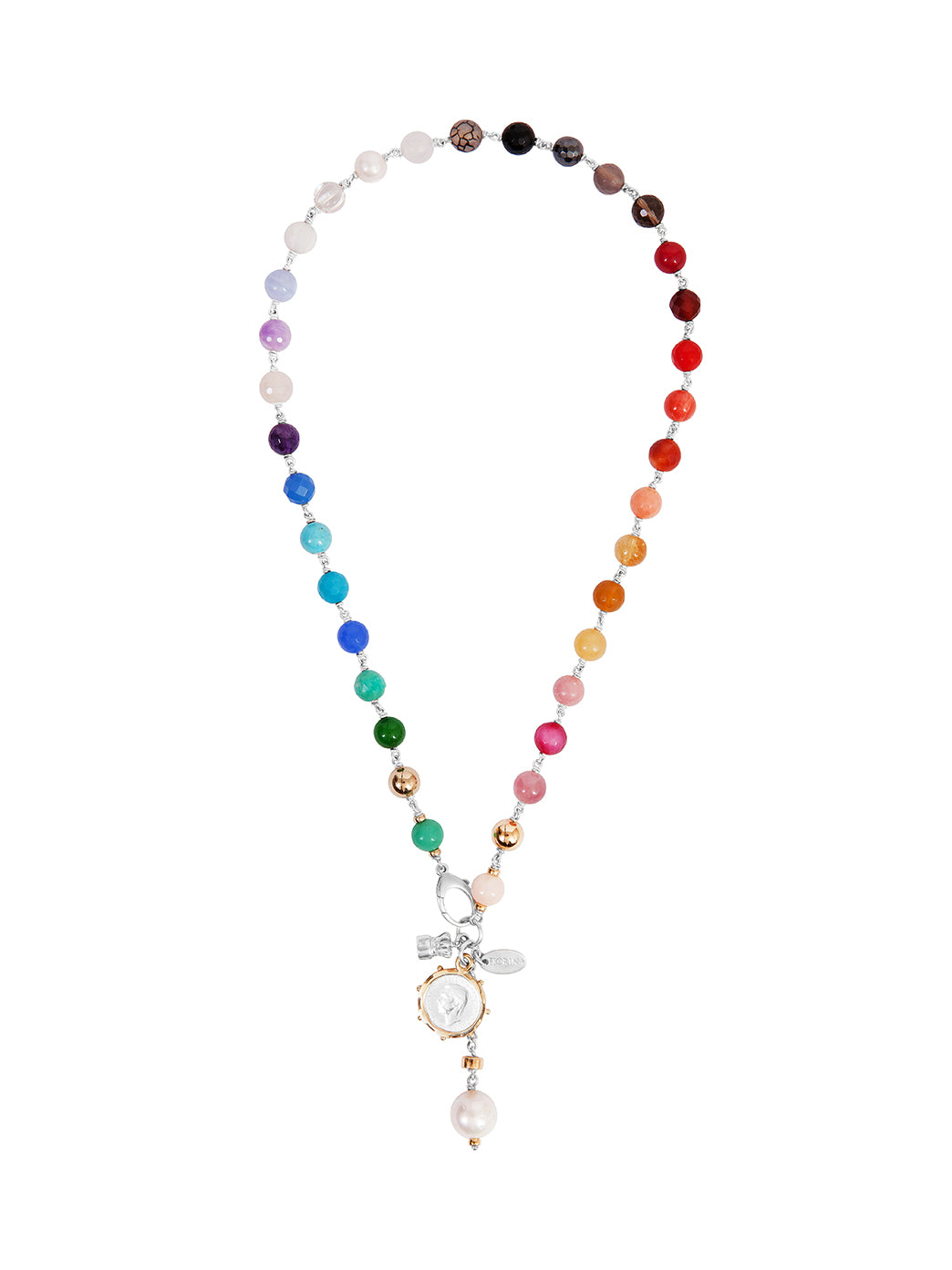 Fiorina Jewellery Monster Elite Pearlina Necklace Chakra