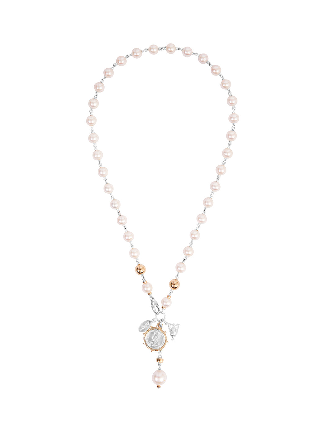 Fiorina Jewellery Monster Elite Pearlina Necklace Pearl