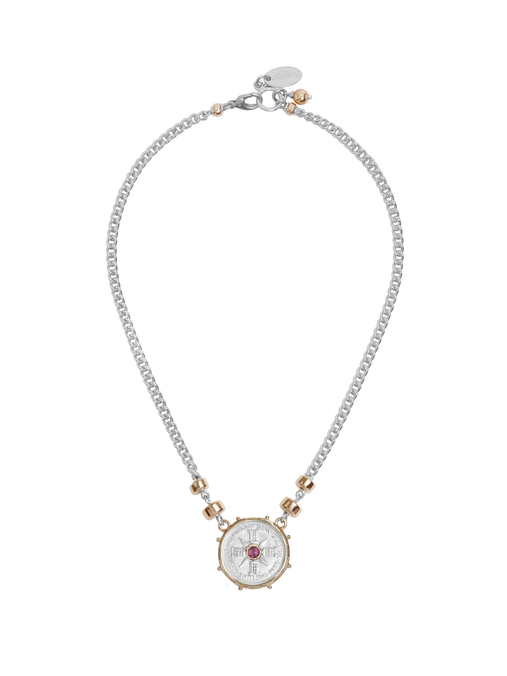 Fiorina Jewellery Jewel Gem Necklace Pink Tourmaline