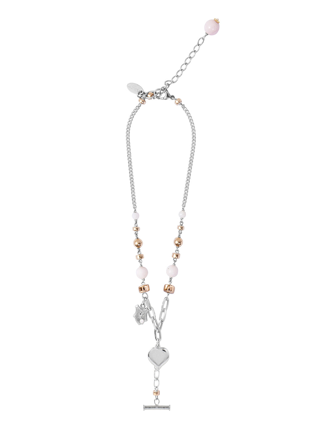 Fiorina Jewellery Florence Necklace Pink Opal