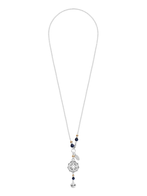 Fiorina Jewellery Silver Encased Jupiter Necklace