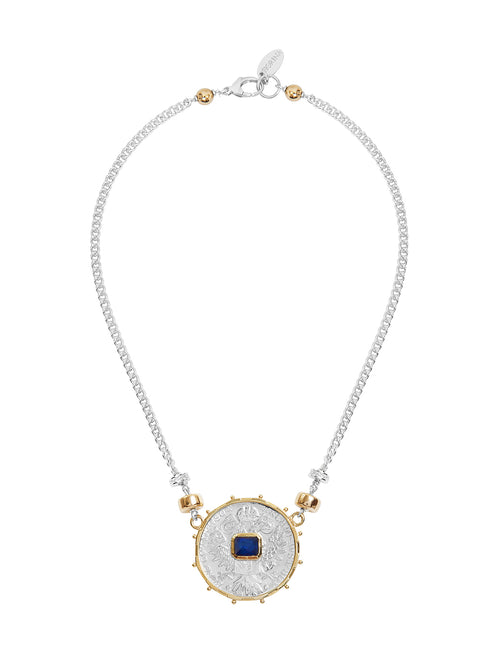 Fiorina Jewellery Monster Jewel Gem Necklace Sapphire