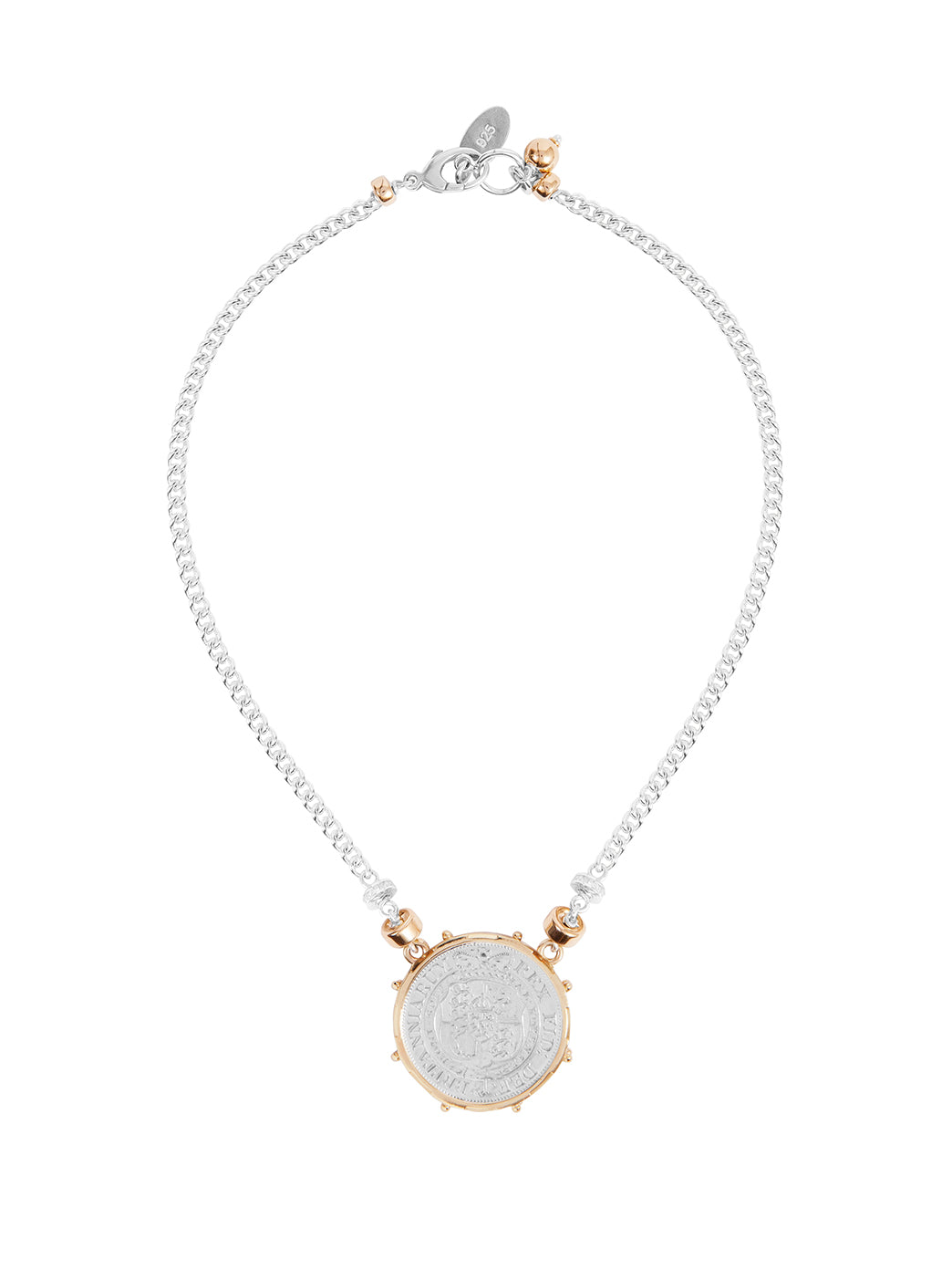 Fiorina Jewellery Coronet Necklace Coin