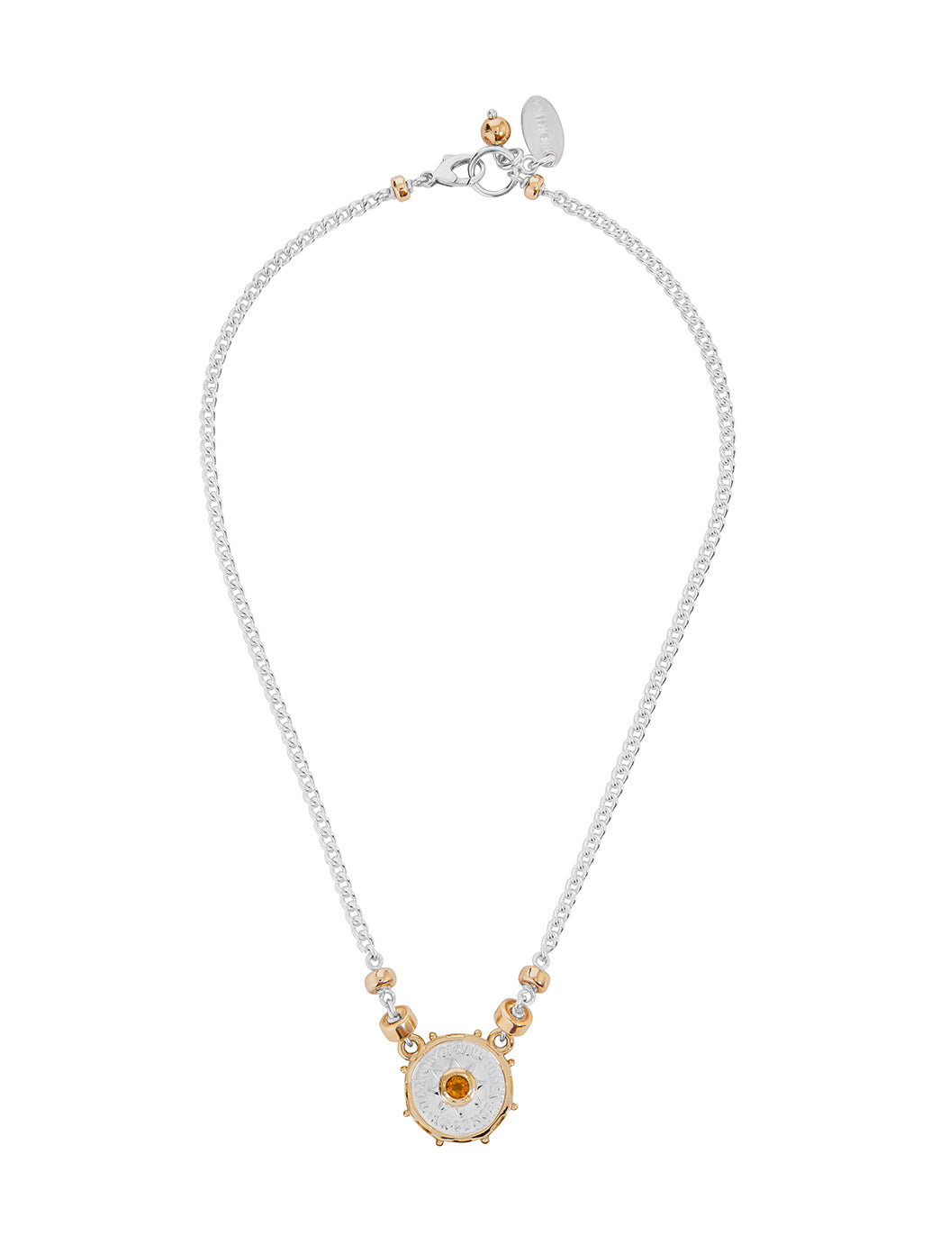 Fiorina Jewellery Joy Necklace Citrine