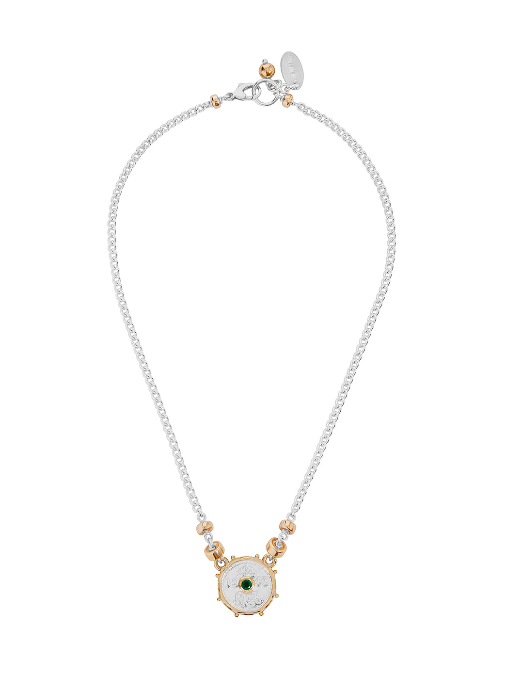 Fiorina Jewellery Joy Necklace Emerald