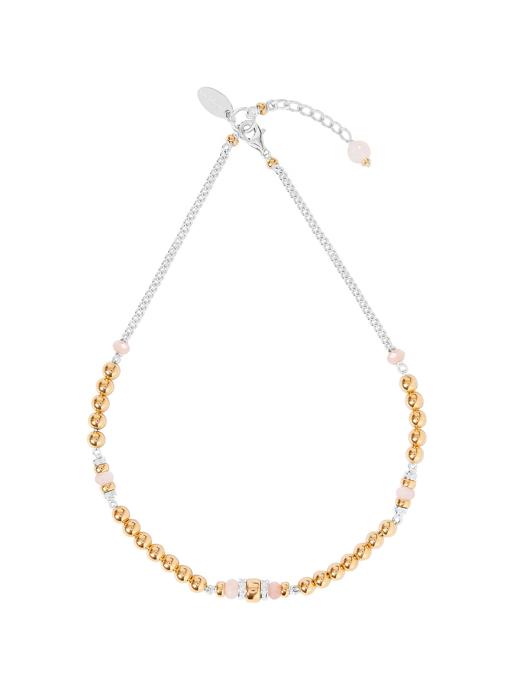 Fiorina Jewellery Jolie Gold Choker Small Morganite