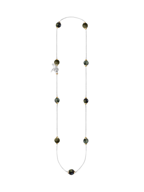 Fiorina Jewellery Mini Comfort Necklace Green Tourmaline