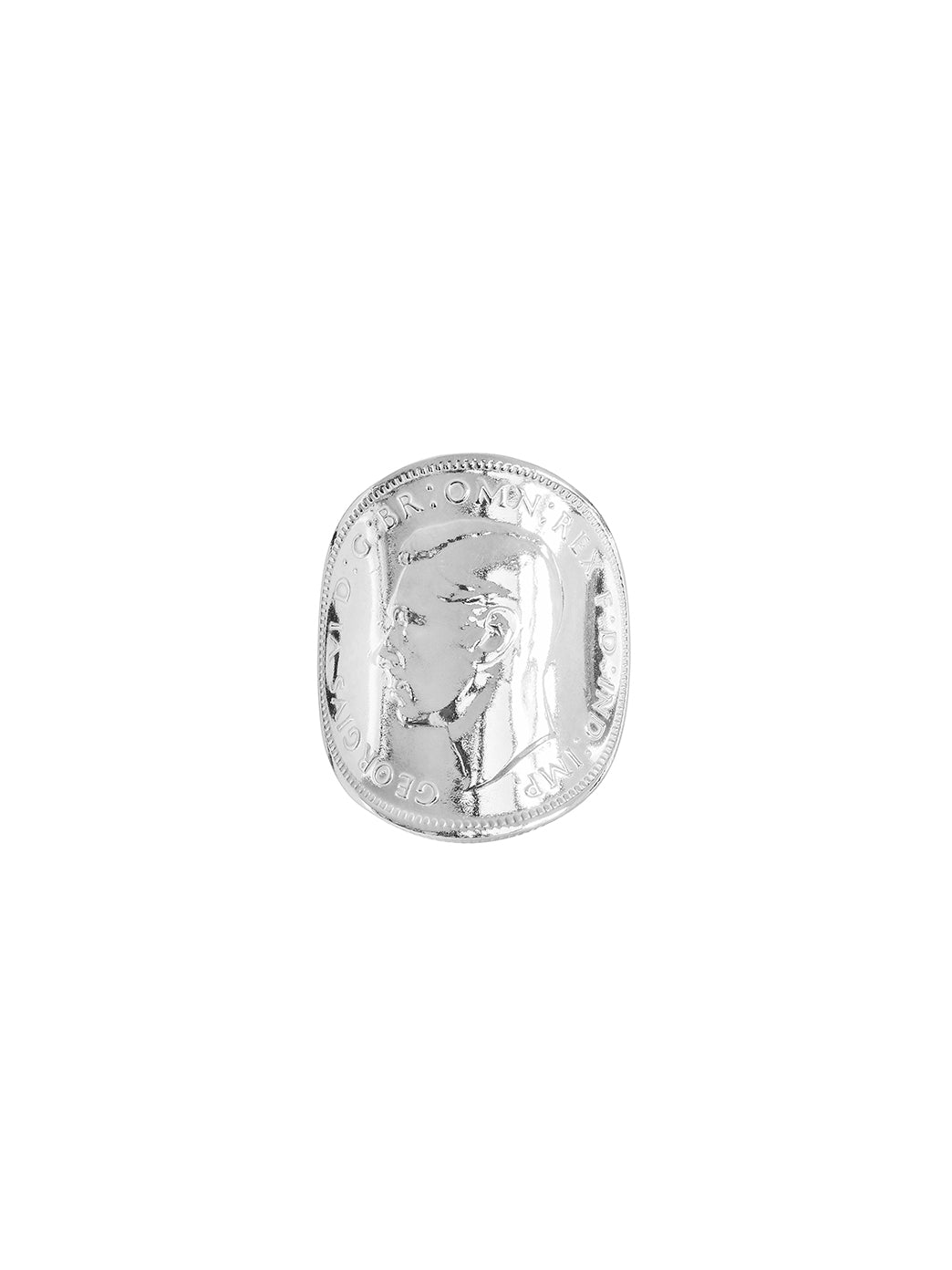 Fiorina Jewellery Bent Coin Ring