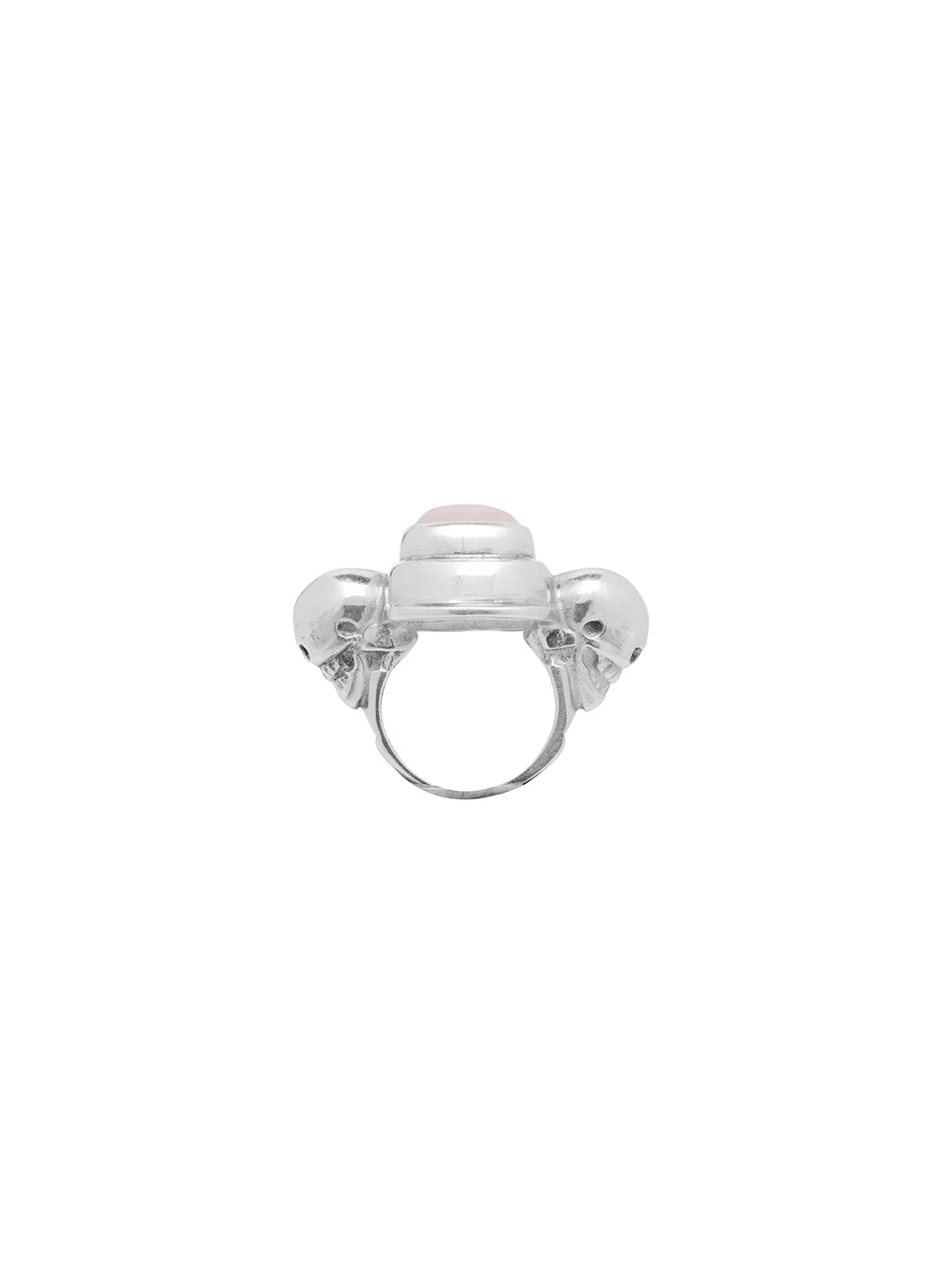 Fiorina Jewellery Chrysler Ring Rose Quartz Side View