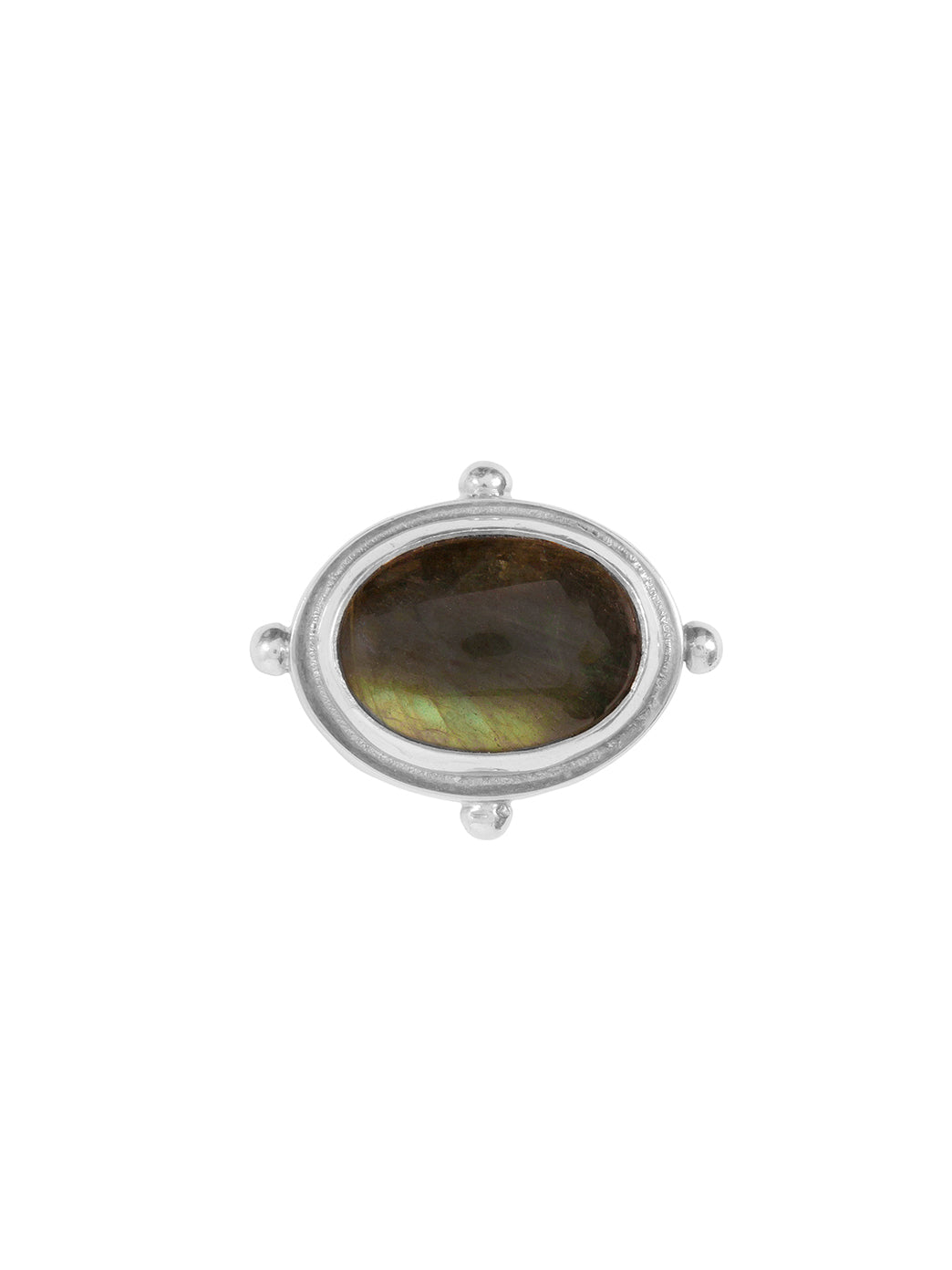 Fiorina Jewellery Cocktail Ring Labradorite