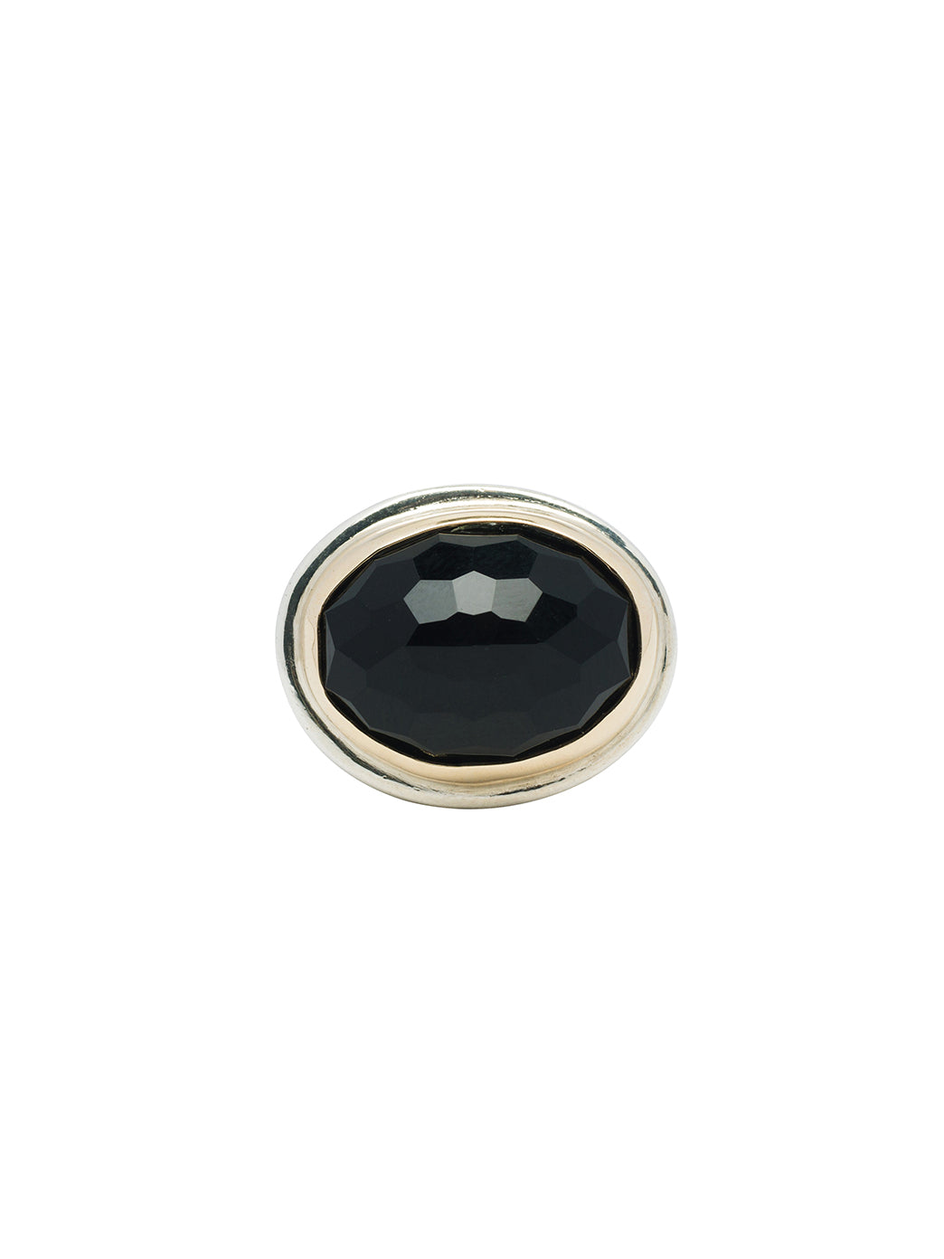 Fiorina Jewellery Bullseye Ring Black Onyx