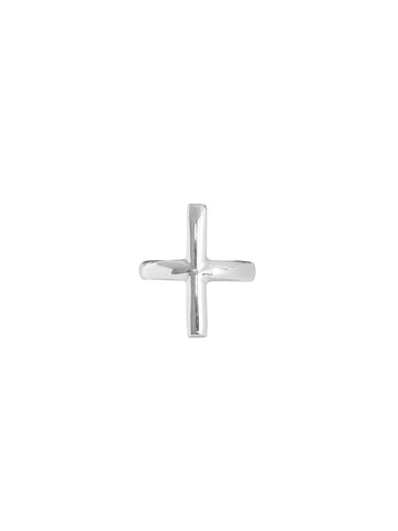 Men's Small Coin Cross Ring