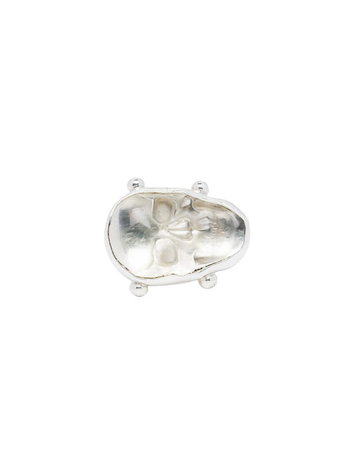 Fiorina Jewellery Crystal Skull Ring
