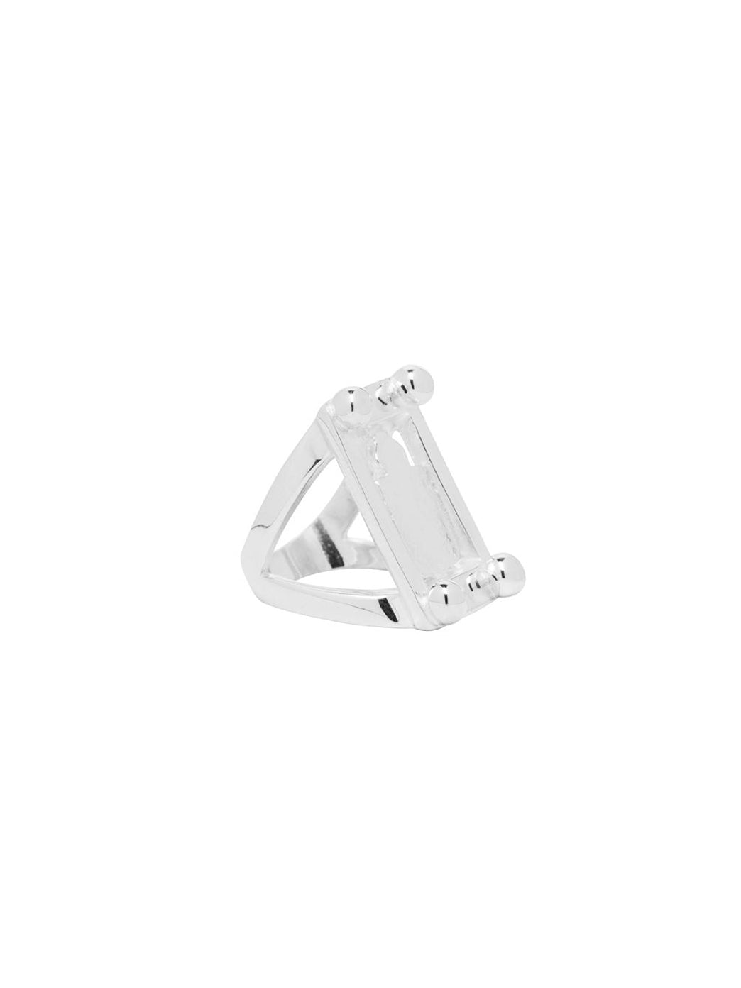Fiorina Jewellery Pablo Ring Shield Angled View