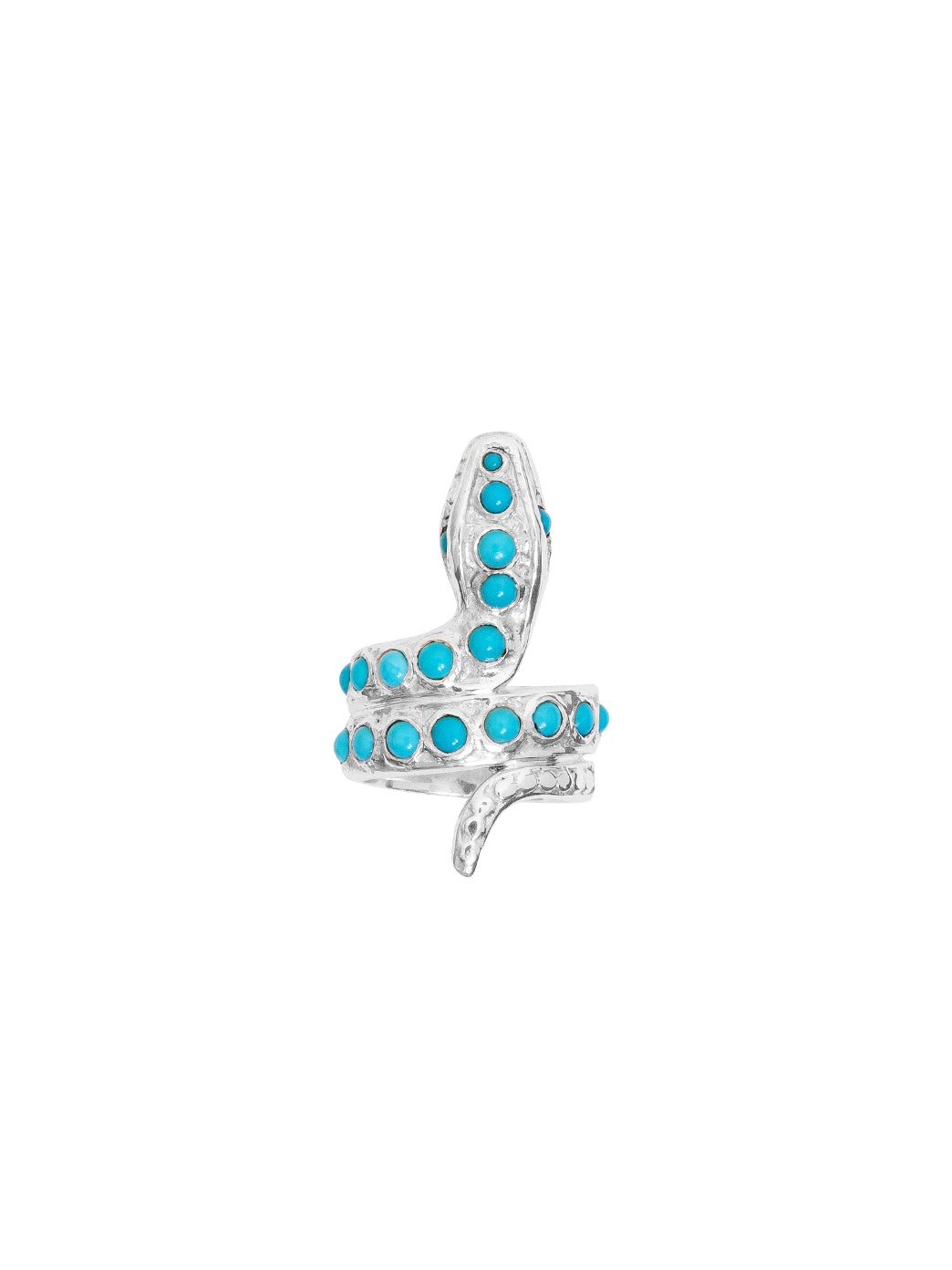 Fiorina Jewellery Turquoise Snake Ring
