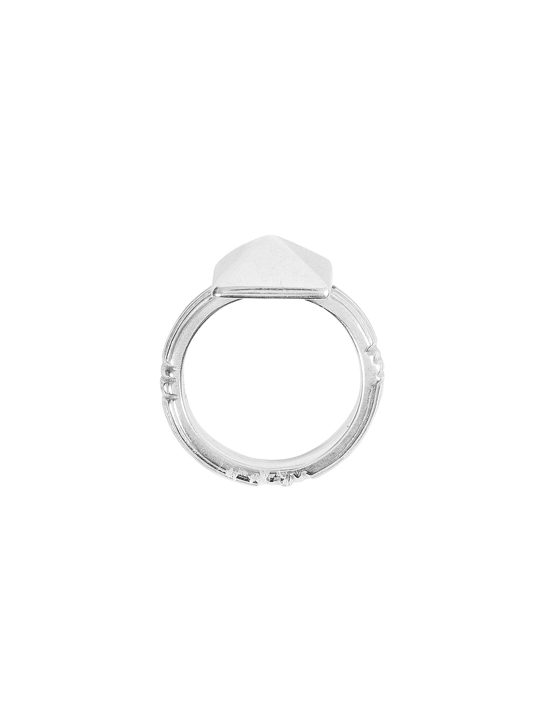 Fiorina Jewellery Pyramid Ring Side