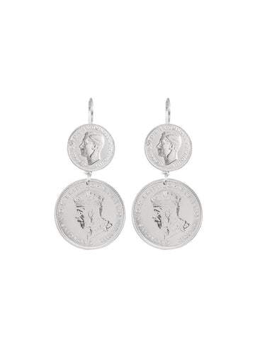 Monster Gypsy Coin Earrings