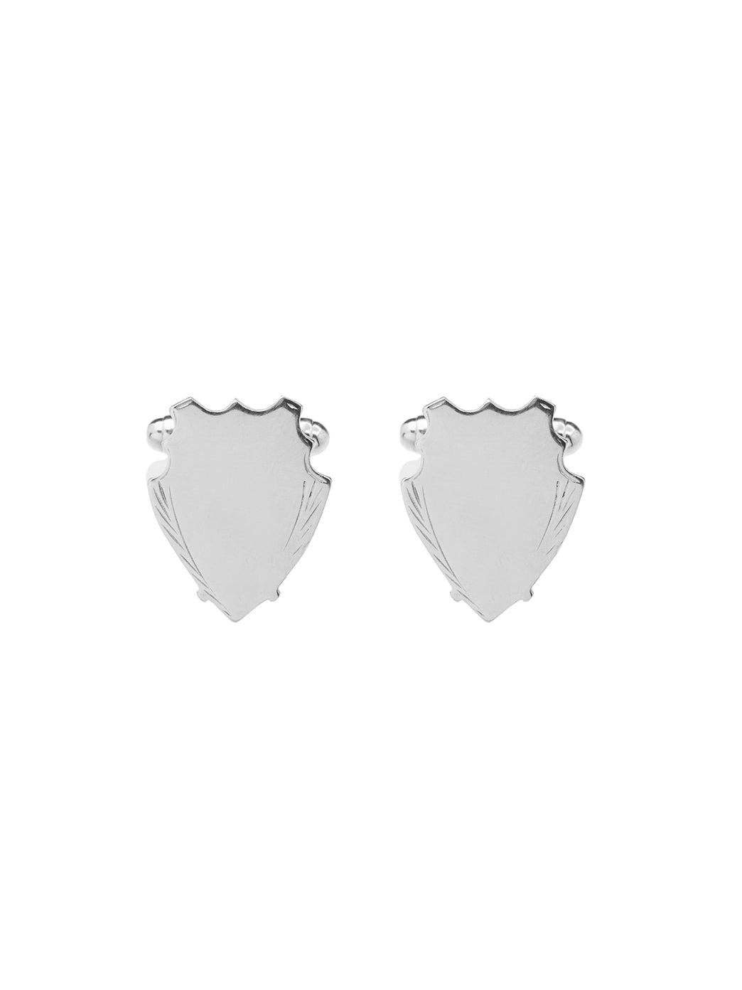 Fiorina Jewellery Shield Cufflinks