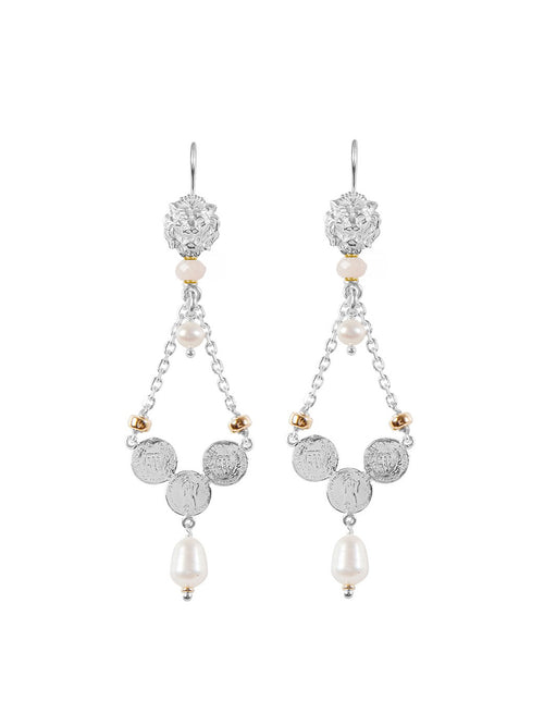 Fiorina Jewellery Trevi Earrings Pink Morganite