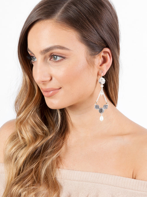 Fiorina Jewellery Trevi Earrings Morganite Model