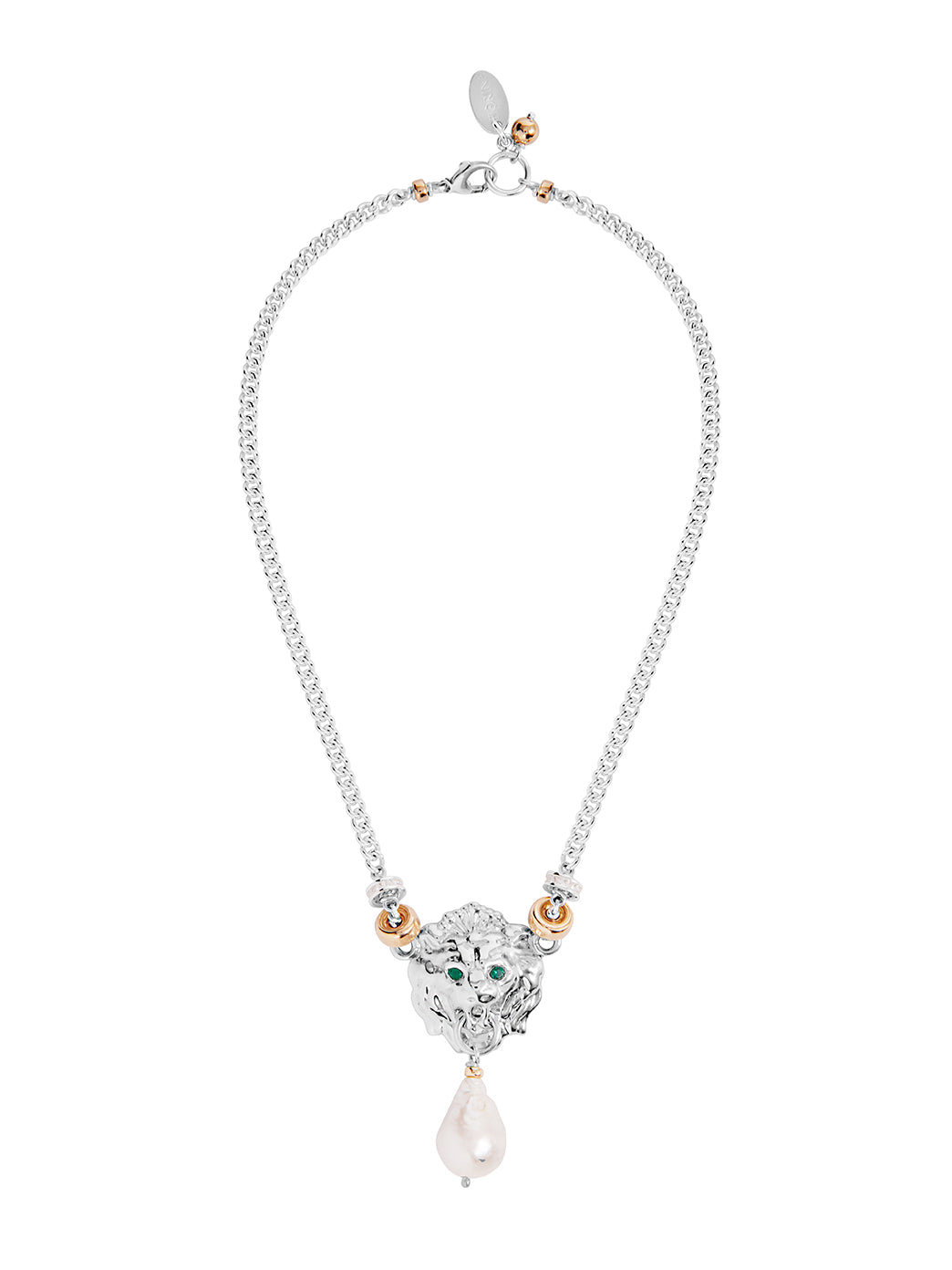 Fiorina Jewellery Trevi Necklace Emerald