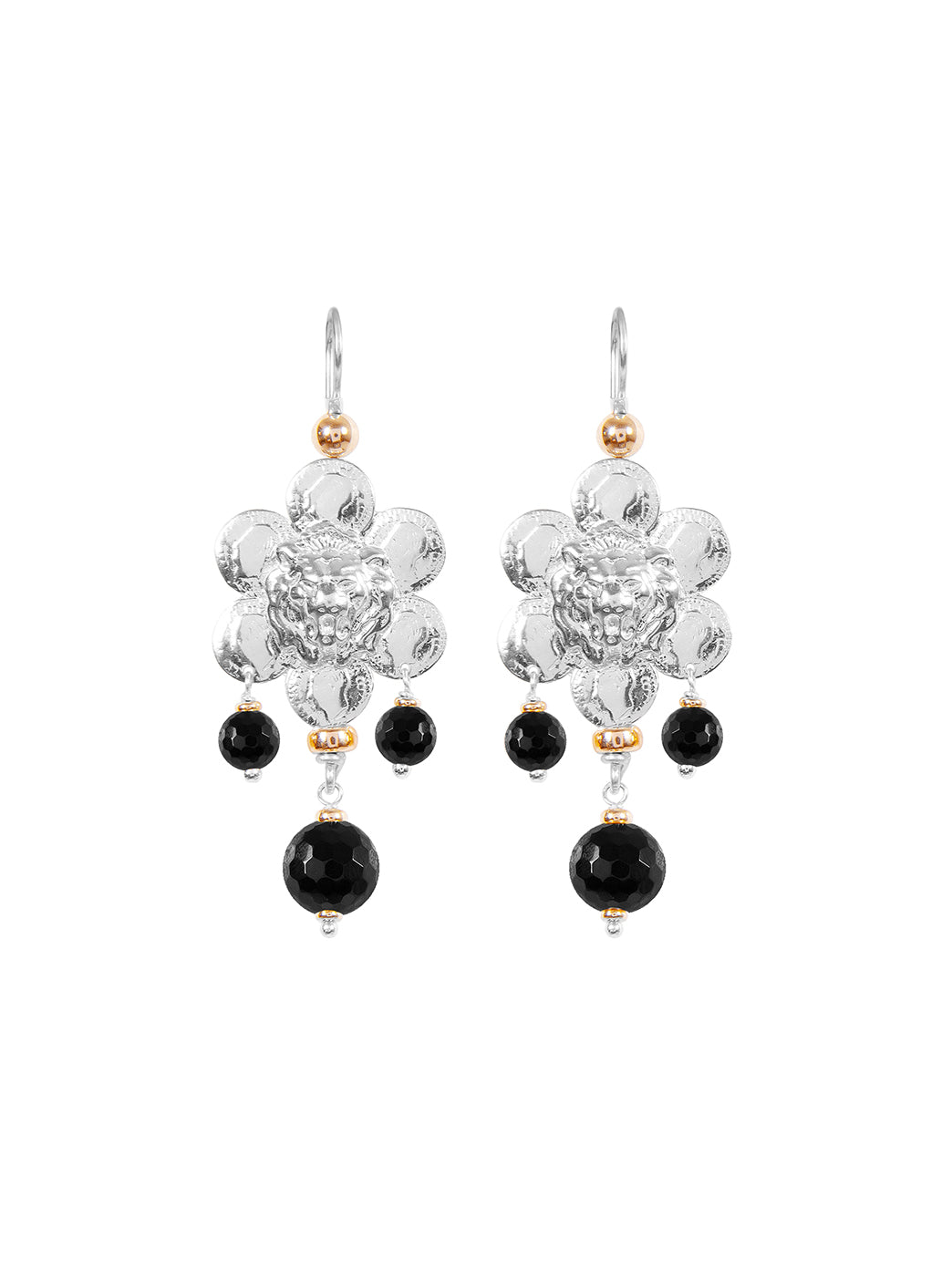 Fiorina Jewellery Giardini Earrings Black Onyx