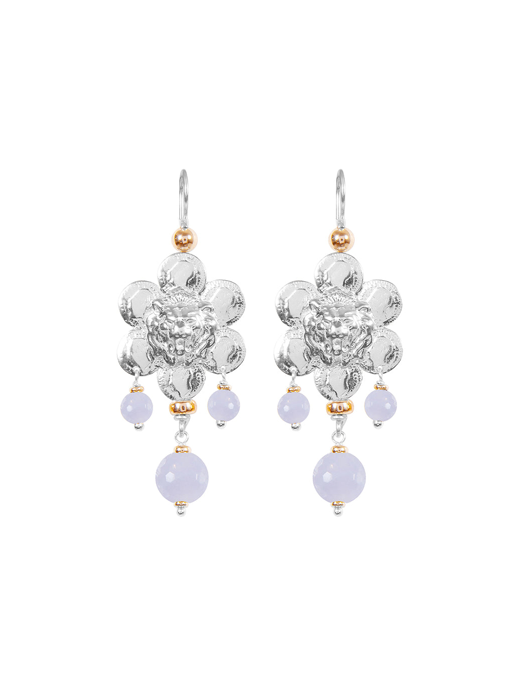 Fiorina Jewellery Giardini Earrings Chalcedony