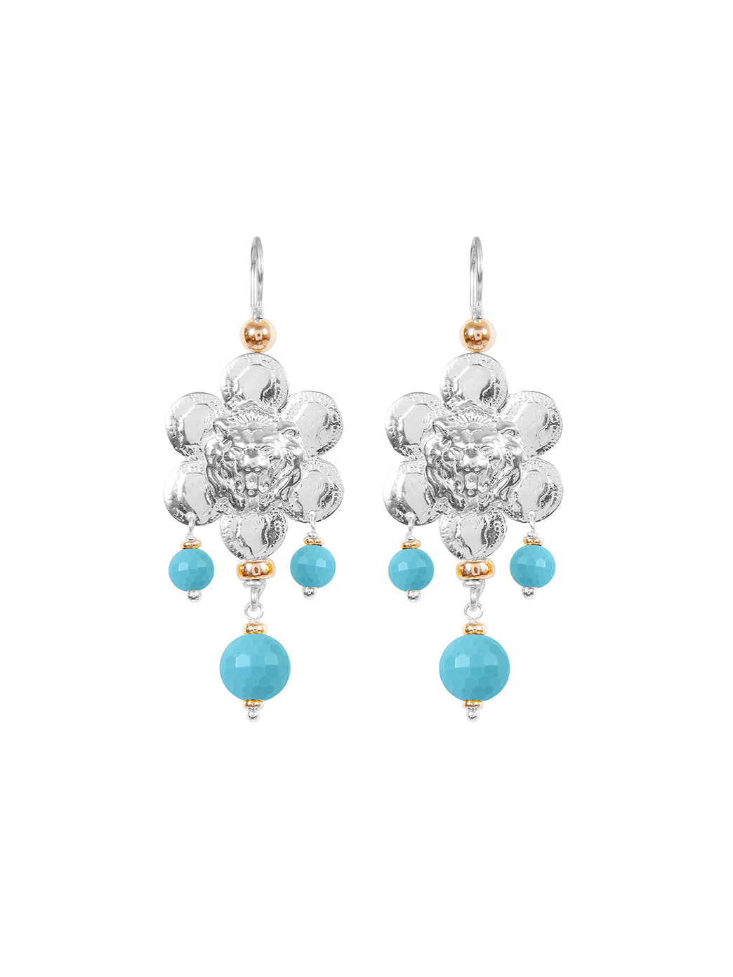Fiorina Jewellery Giardini Earrings Turquoise
