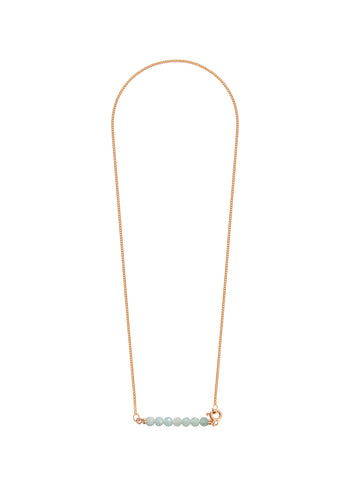Gold and Silver Side Cross Necklace