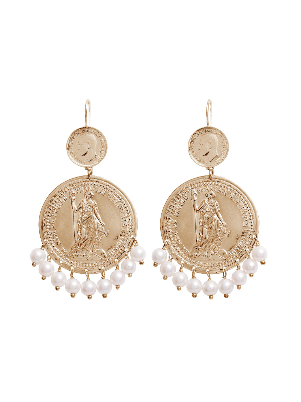 Fiorina Jewellery Gold Marrakesh Earrings