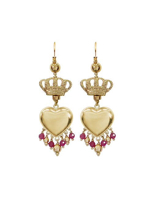 Fiorina Jewellery Gold Royal Valentina Earrings