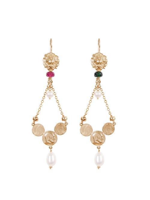 Fiorina Jewellery Gold Trevi Earrings