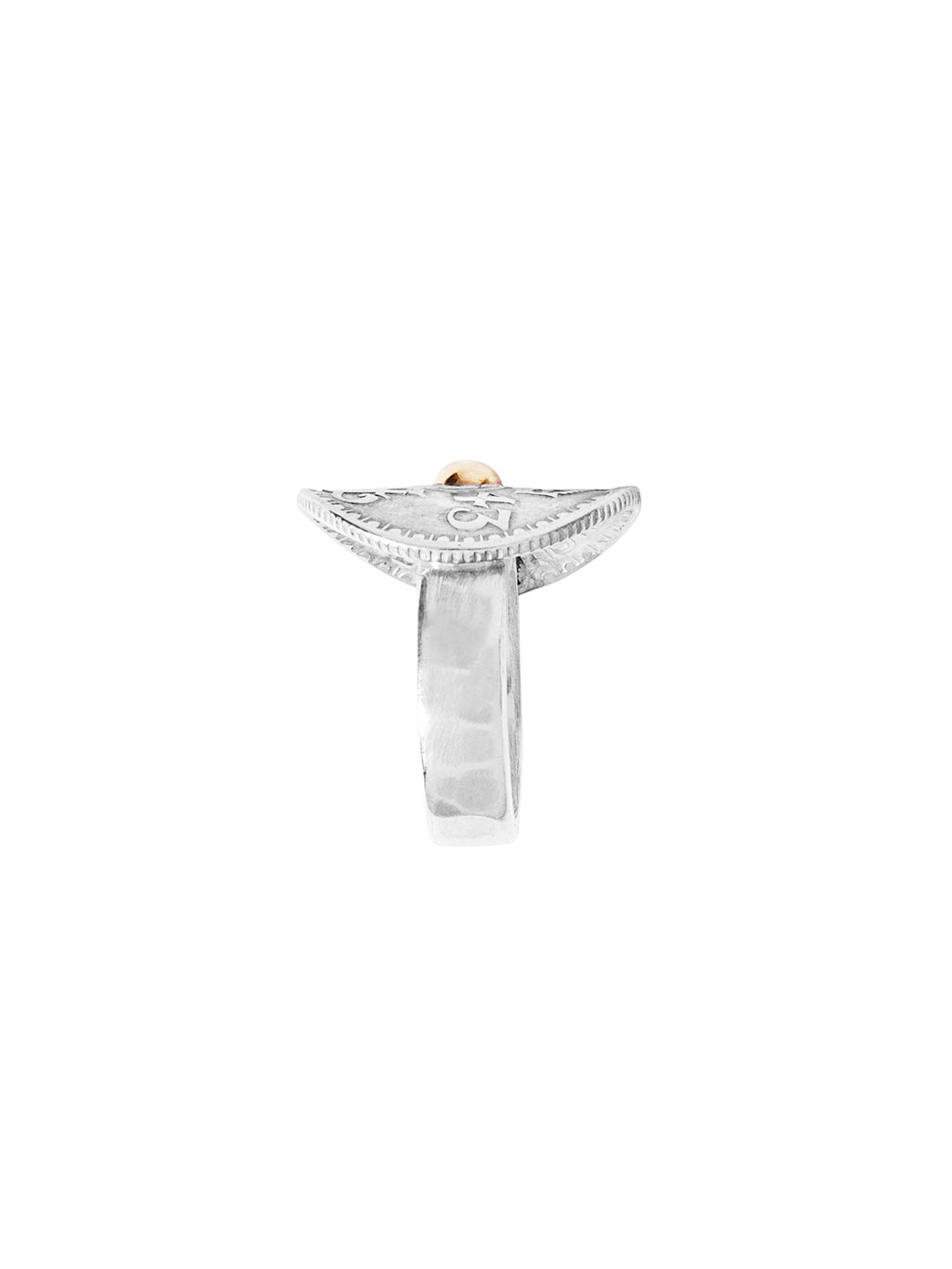 Fiorina Jewellery Joy Bent Pinkie Ring Shank View