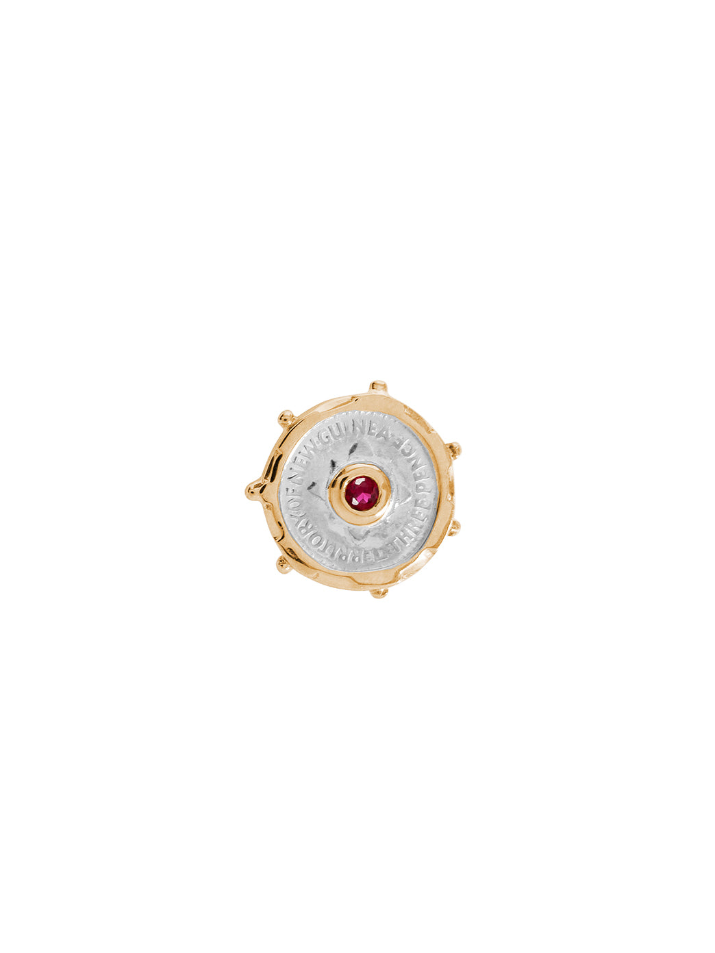 Fiorina Jewellery Joy Gem Pinkie Ring Ruby