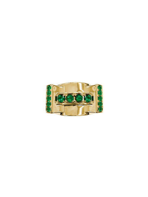 Fiorina Jewellery Martini Ring Emerald