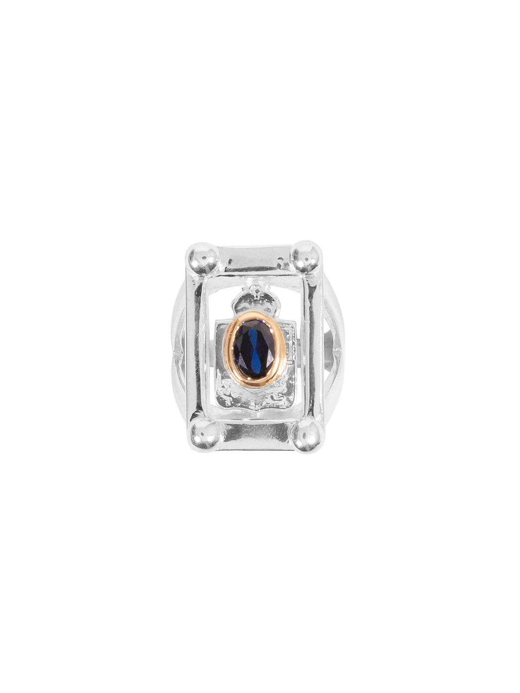 Fiorina Jewellery College Ring Sapphire Top