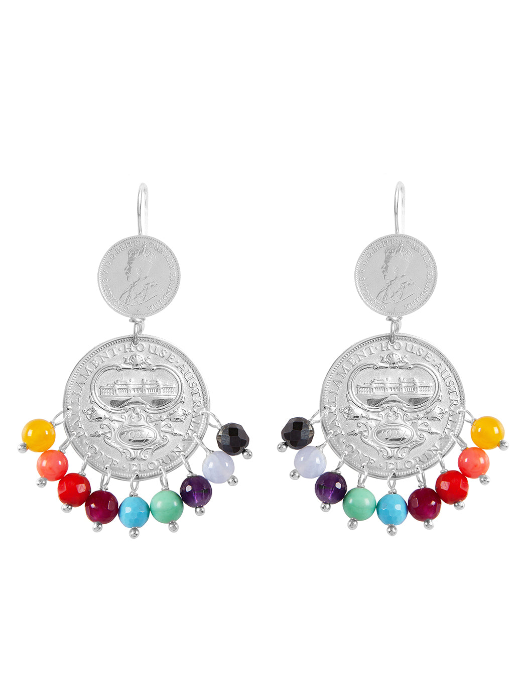 Fiorina Jewellery Mini Marrakesh Earrings Chakra