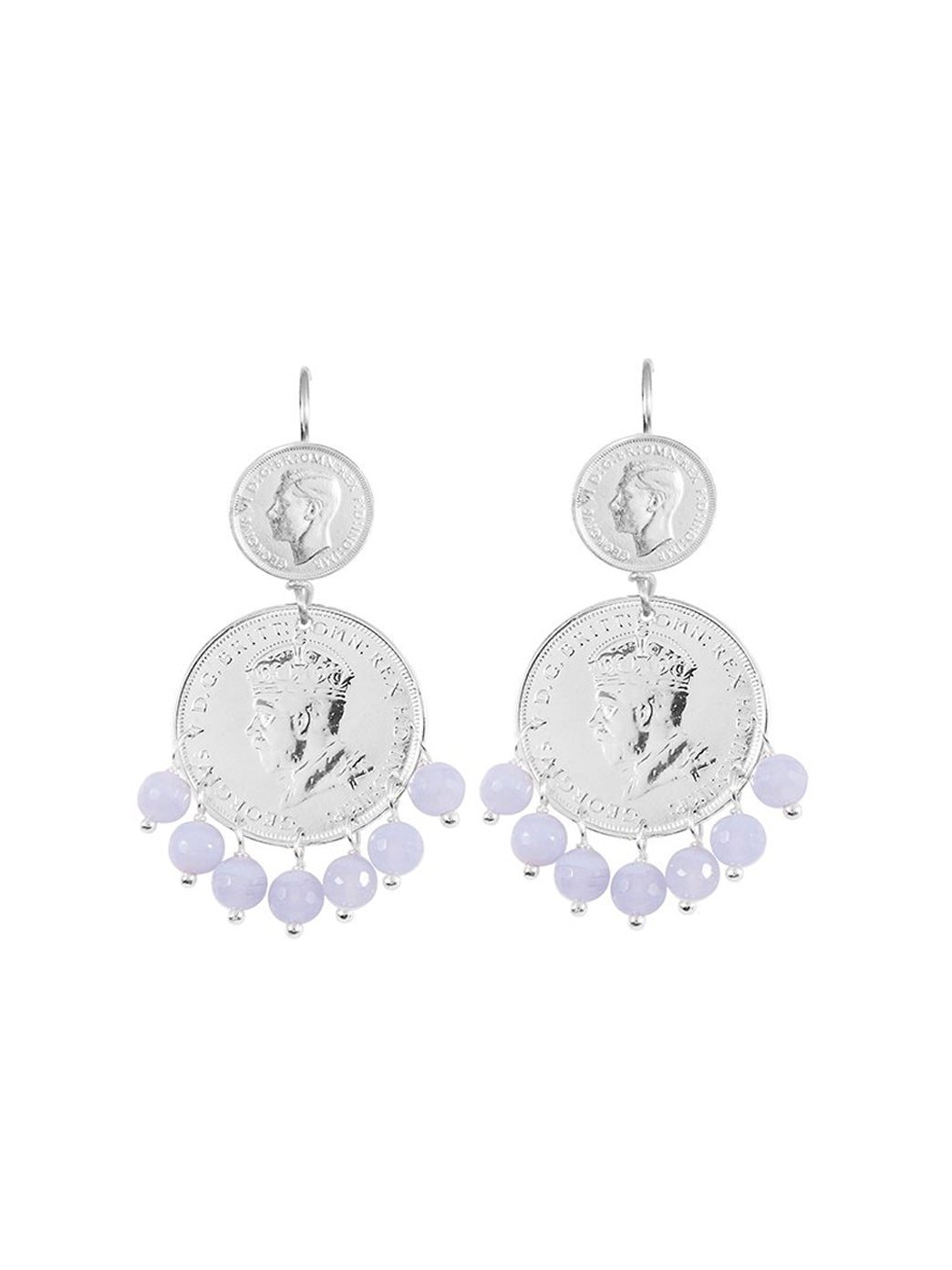 Fiorina Jewellery Mini Marrakesh Earrings Chalcedony
