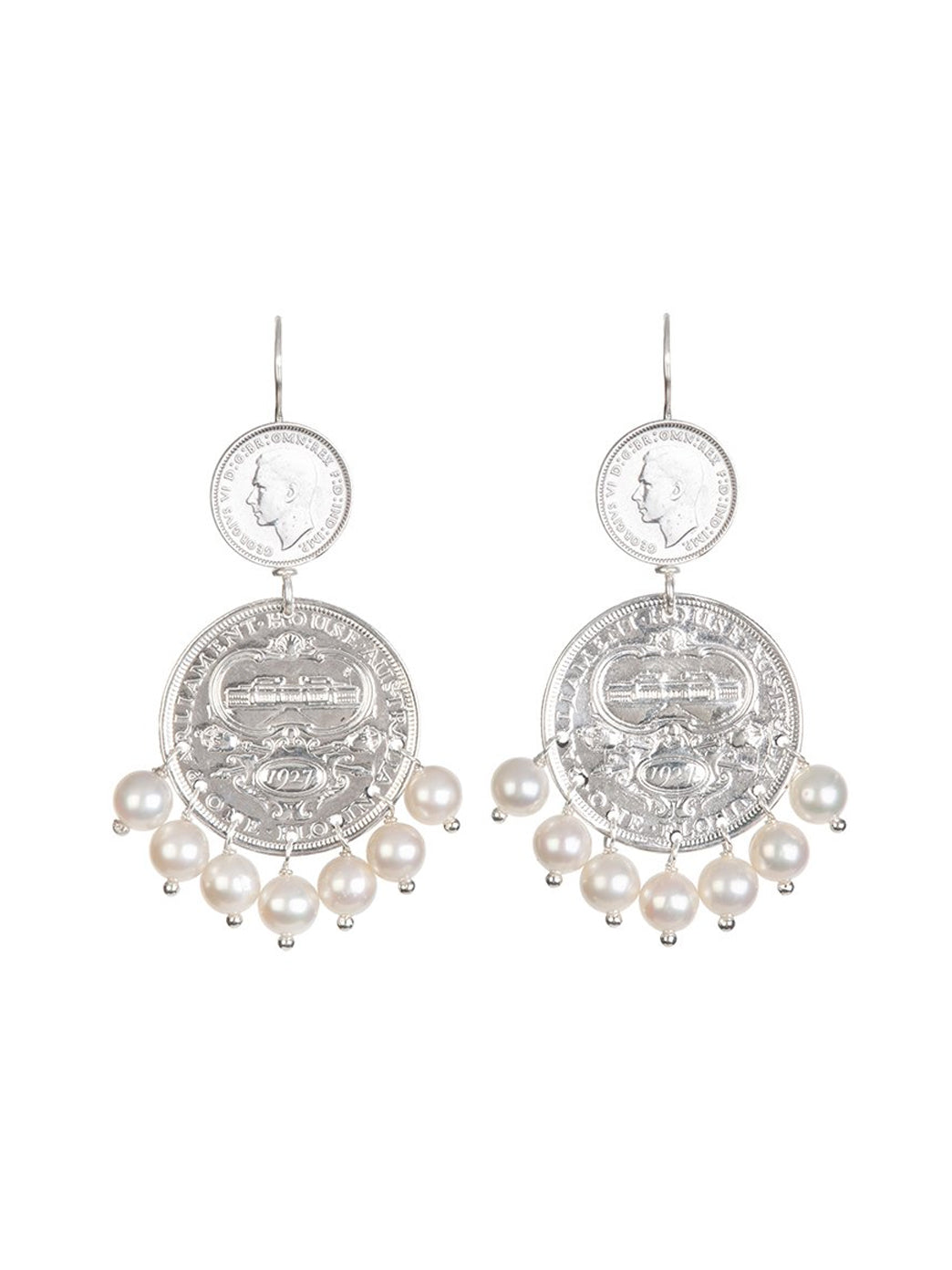 Fiorina Jewellery Mini Marrakesh Earrings Pearl