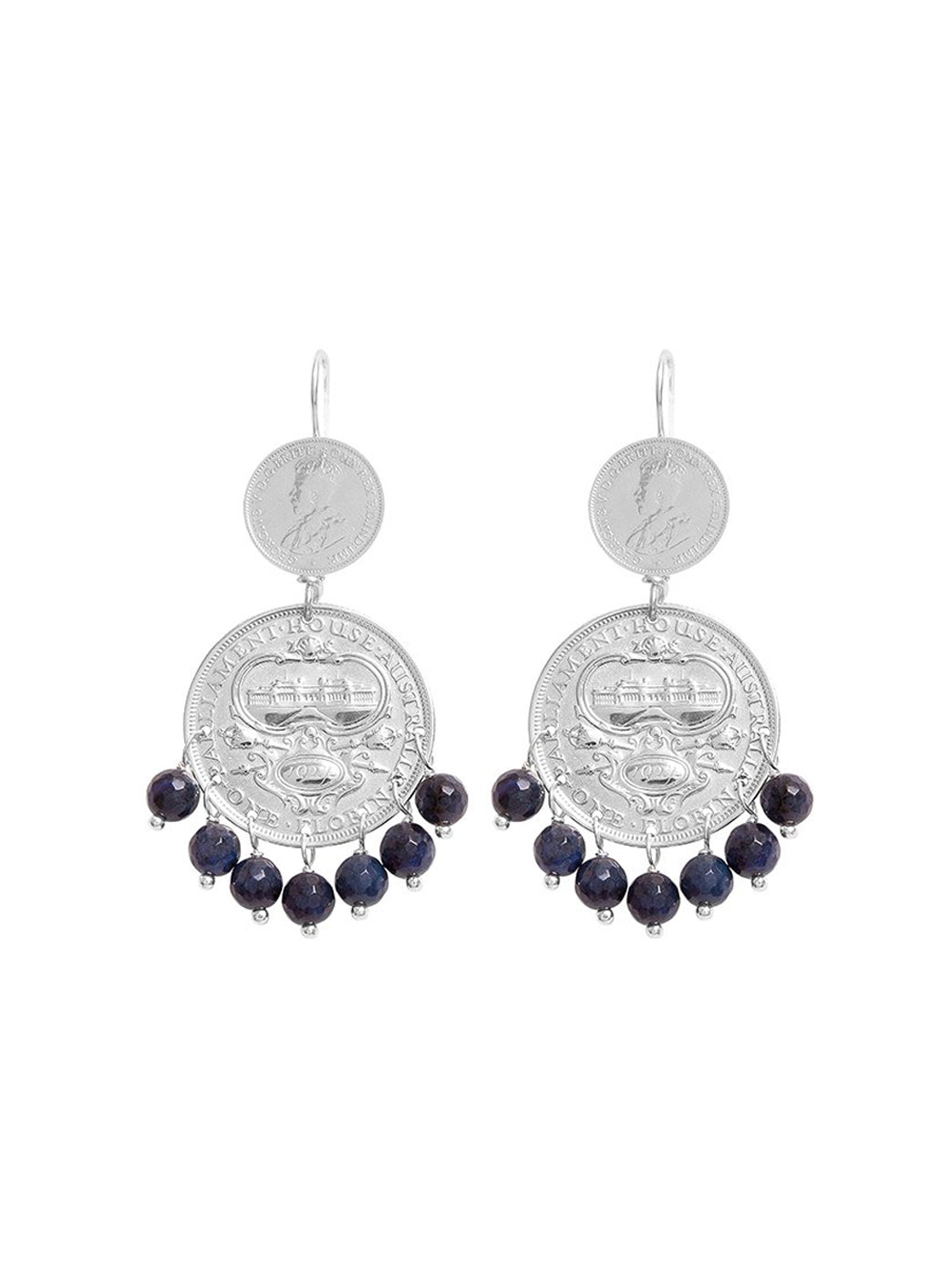 Fiorina Jewellery Mini Marrakesh Earrings Sodalite