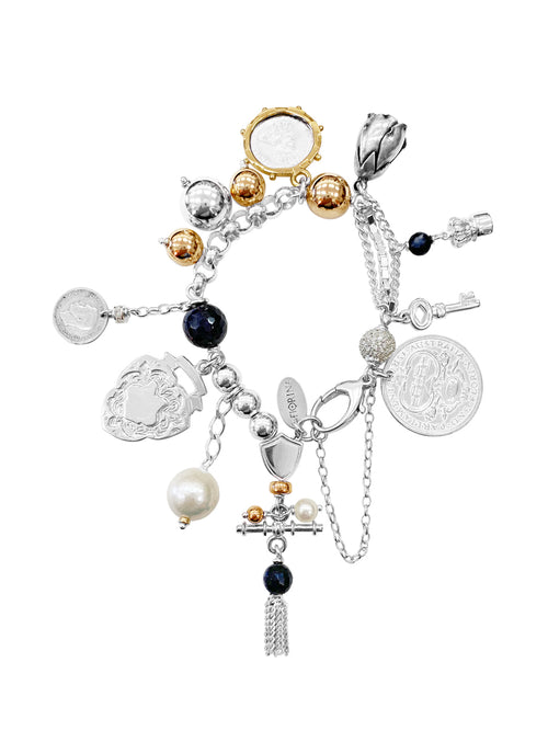 Fiorina Jewellery Monster Charm Bracelet