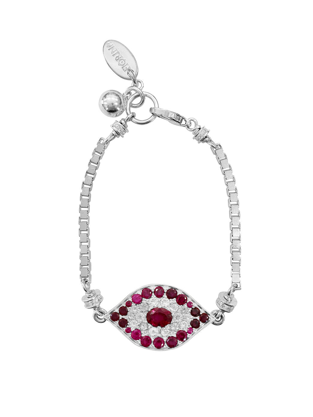 Fiorina Jewellery Oracle Eye Bracelet Ruby